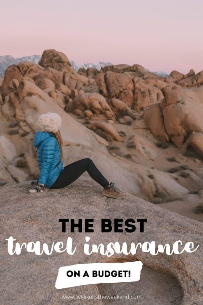 Pinterest cover for best budget travel insurance