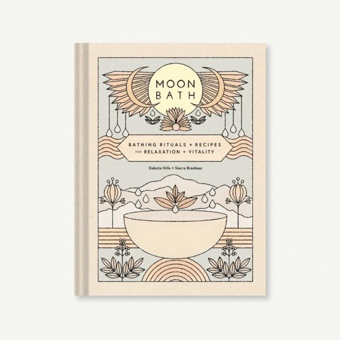Moon bath book