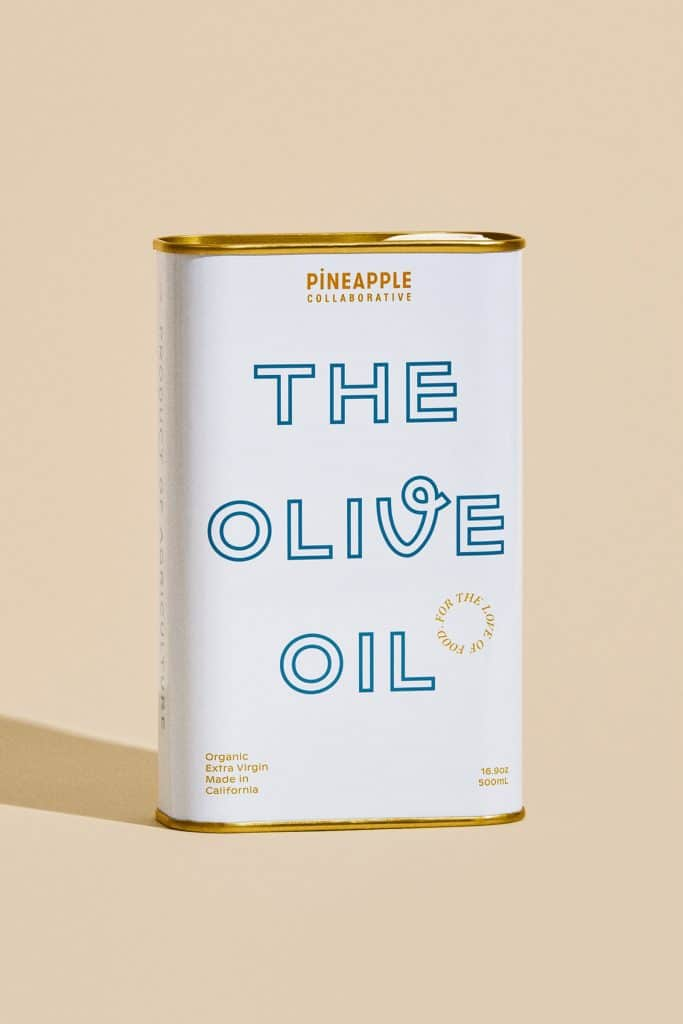 The Pineapple Collaborative olive oil