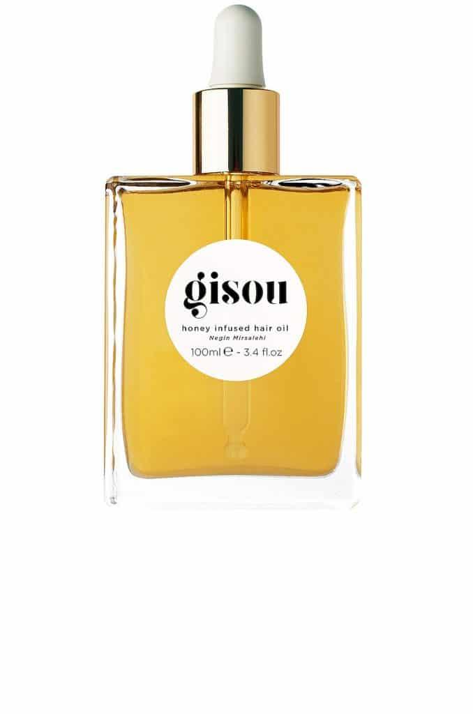 Gisou honey based hair products