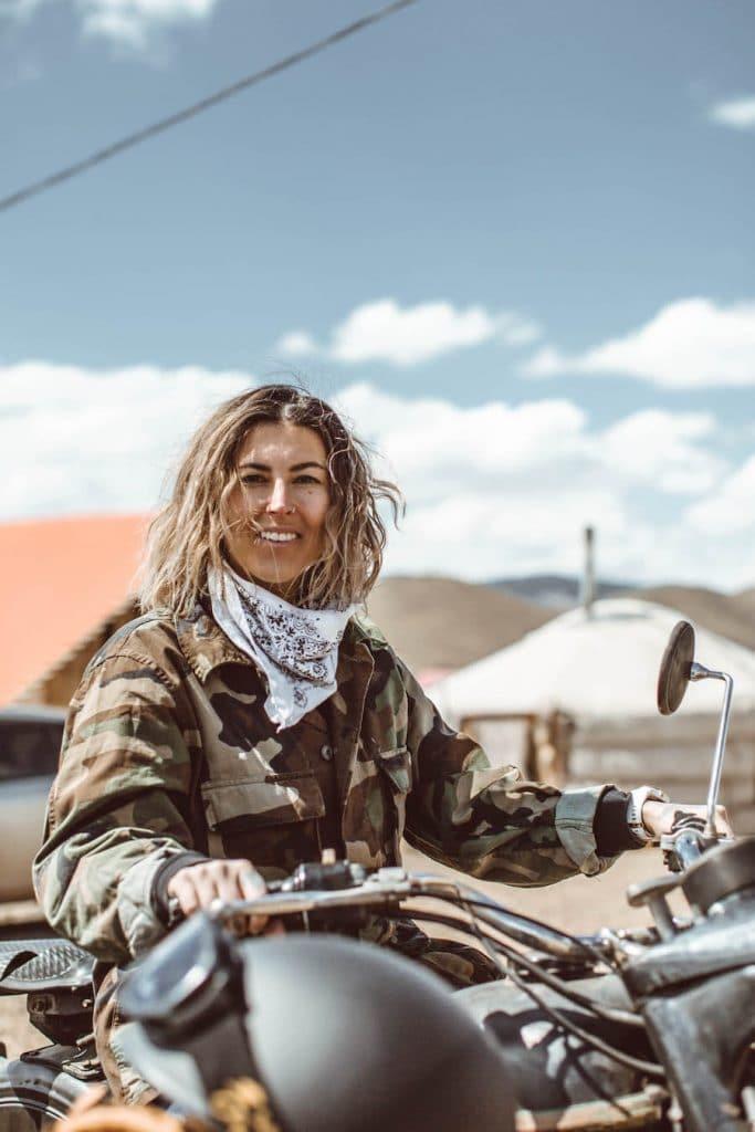 Breanna Wilson in Mongolia