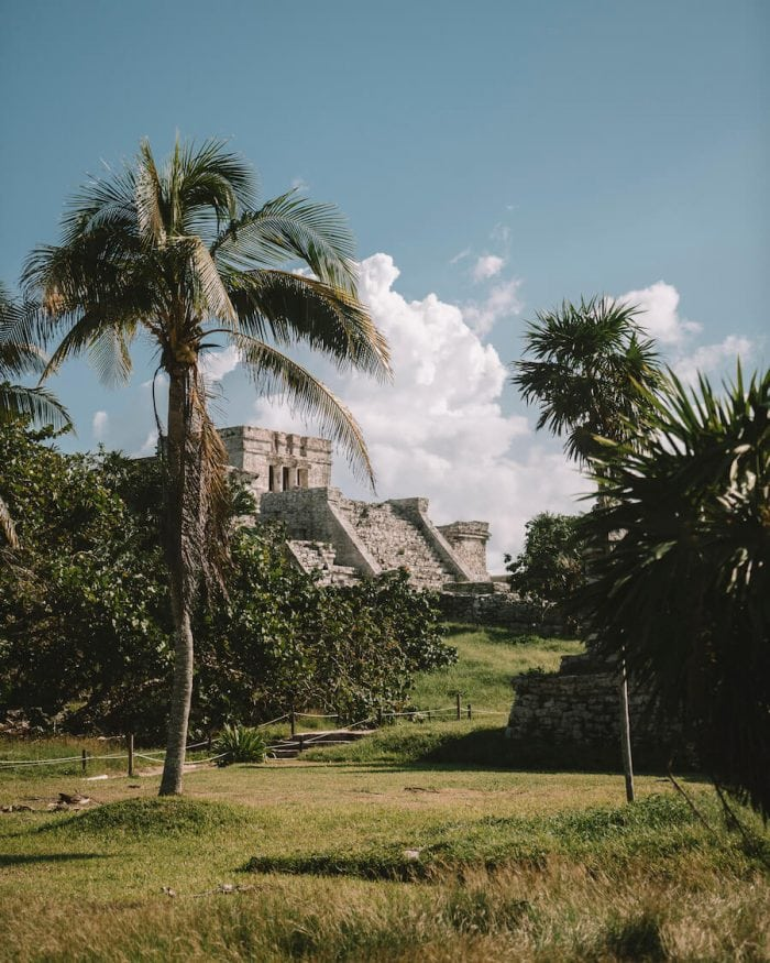 The Tulum Ruins - how to get from Cancun to Tulum