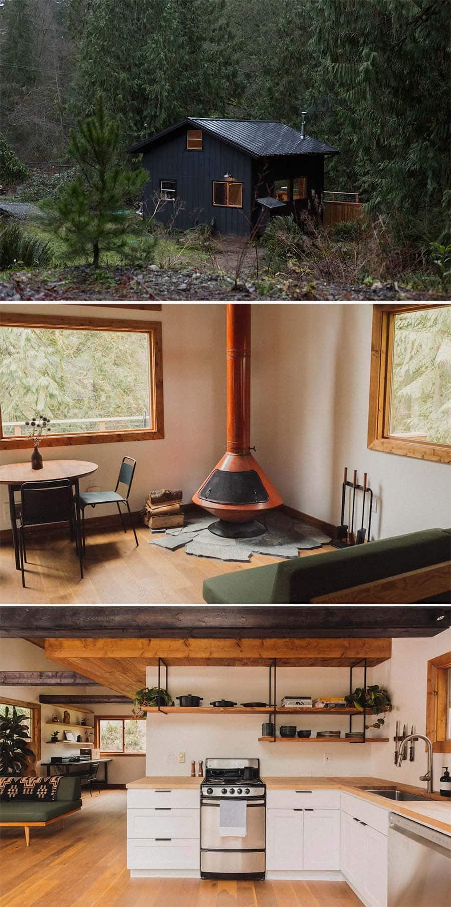 Canyon Creek cabin 2
