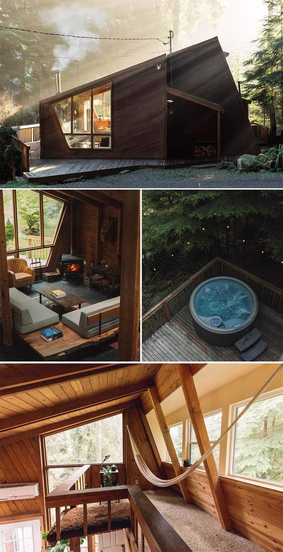 Canyon Creek cabins in Granite Falls, Washington