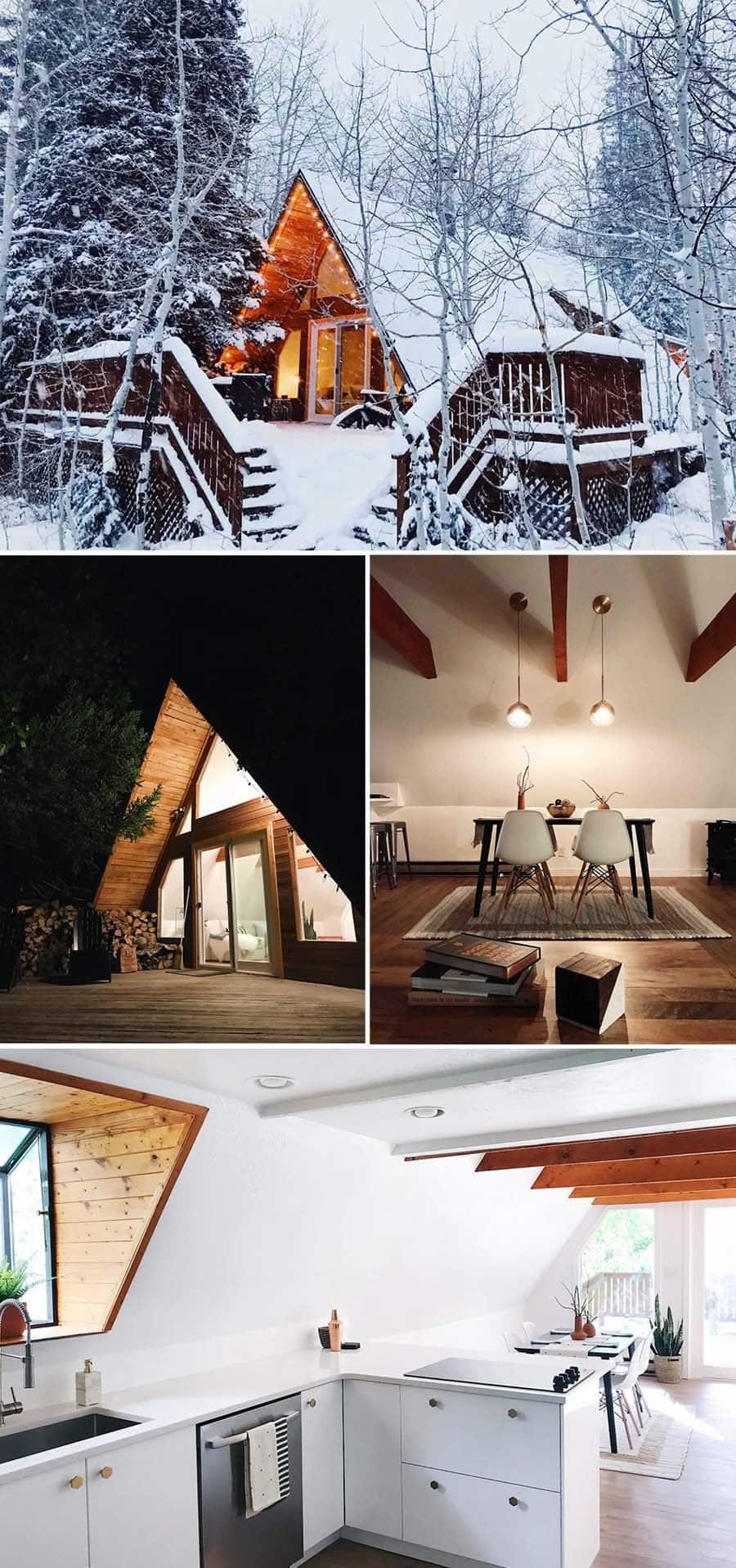 Cottonwood Chalet, Winter cabin