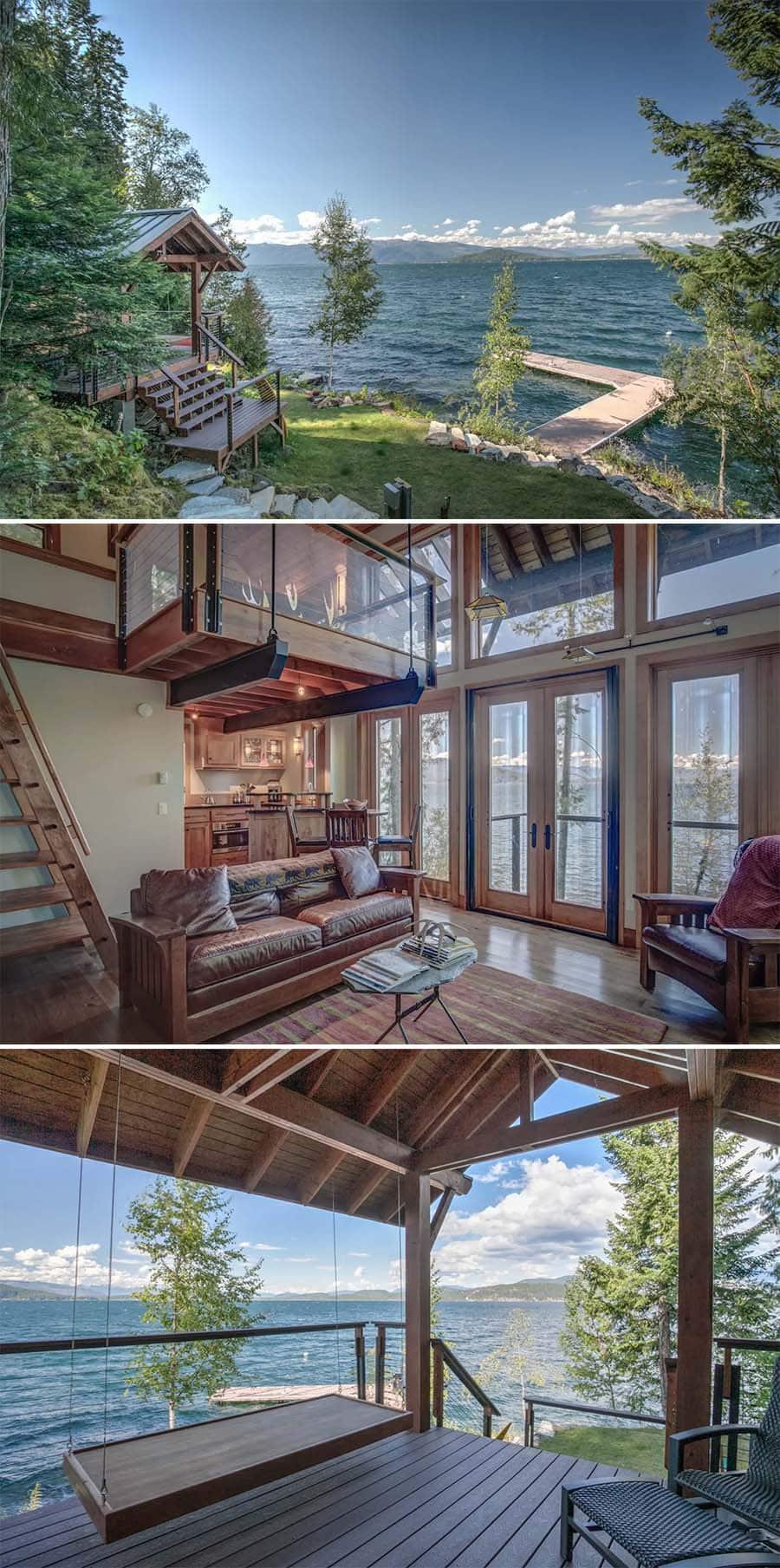 Four Season Retreat cabin Airbnb in Idaho