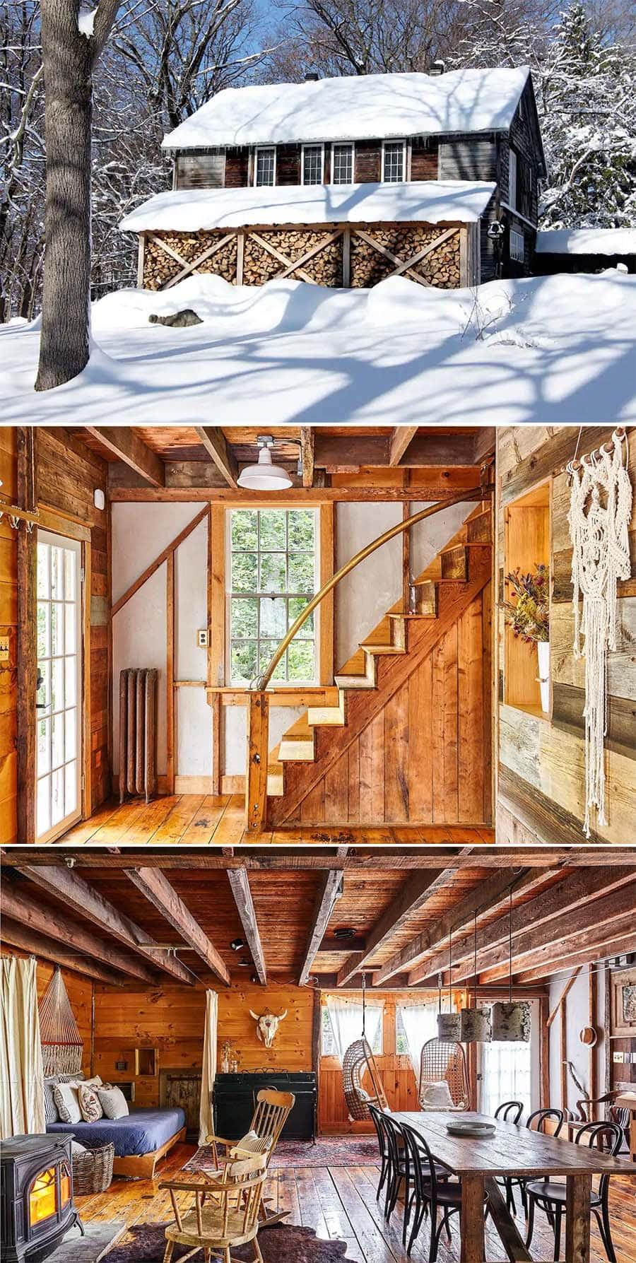 Hibernate barn in Tivoli, New York Airbnb cabin