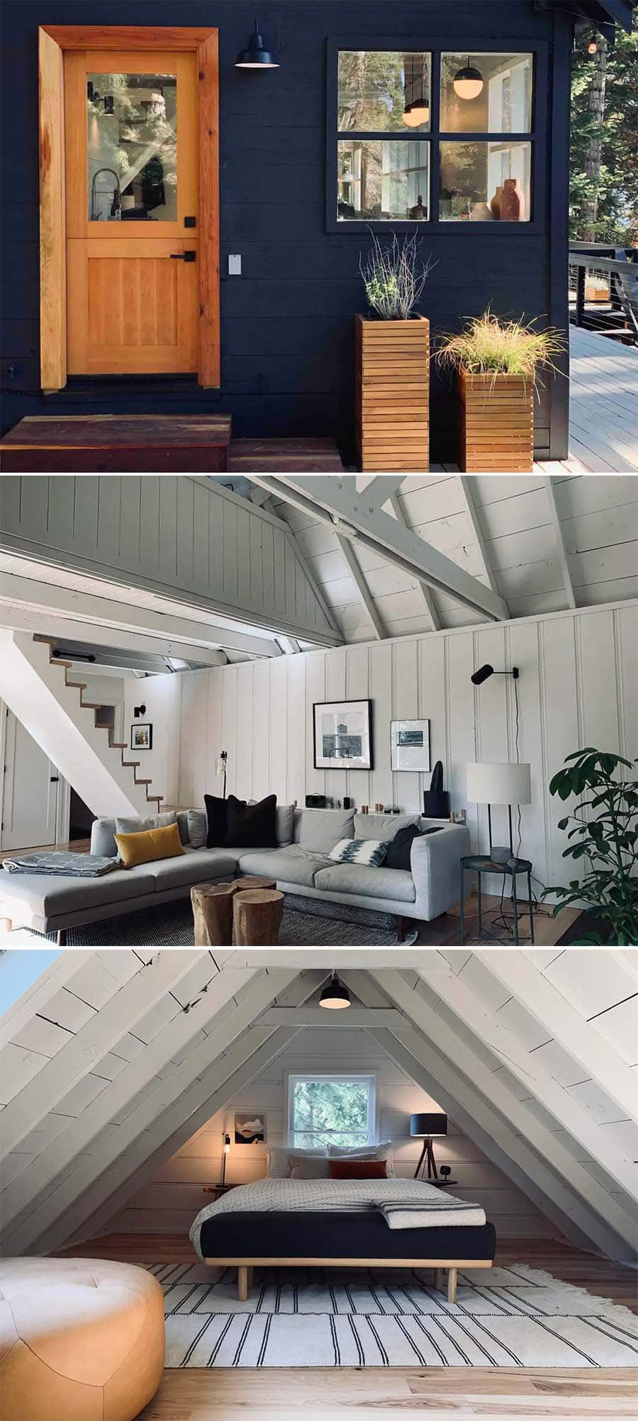 Little Black cabin airbnb