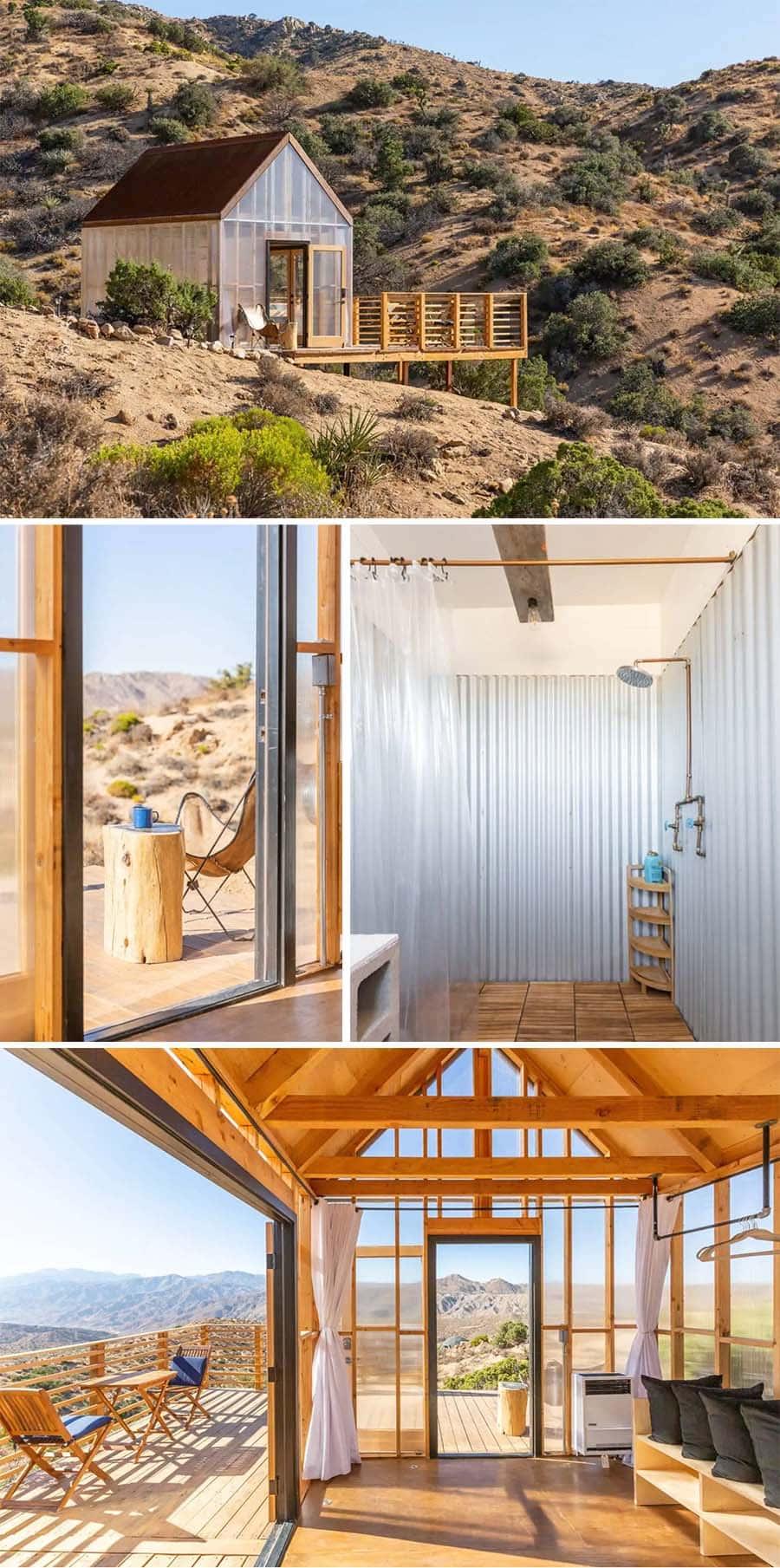Morongo Valley California Airbnb cabin