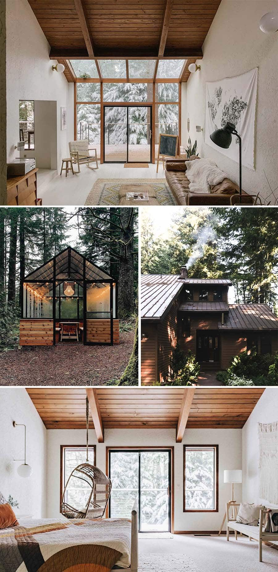 The Woodlands House beautiful cabin in the woods