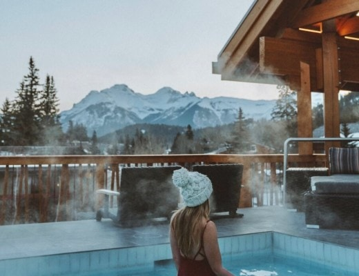 Where to stay in Banff.- the Moose Hotel in downtown Banff, Canada