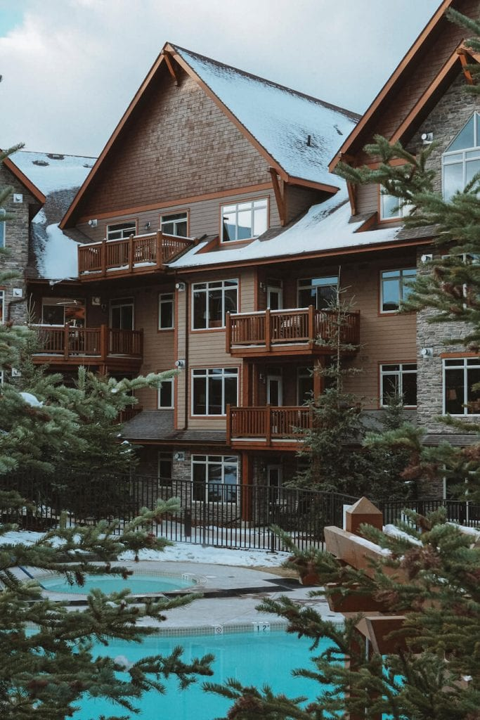 Pool at Stoneridge Mountain Resort - where to stay in Banff