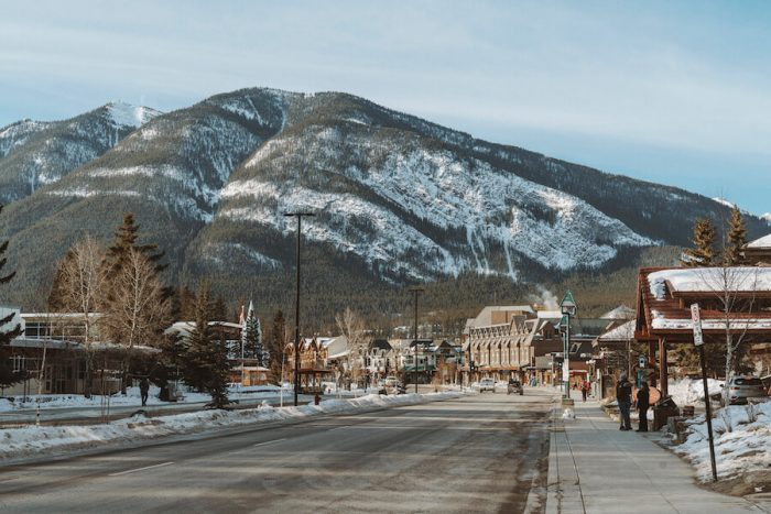 Downtown Banff - where to stay in Banff