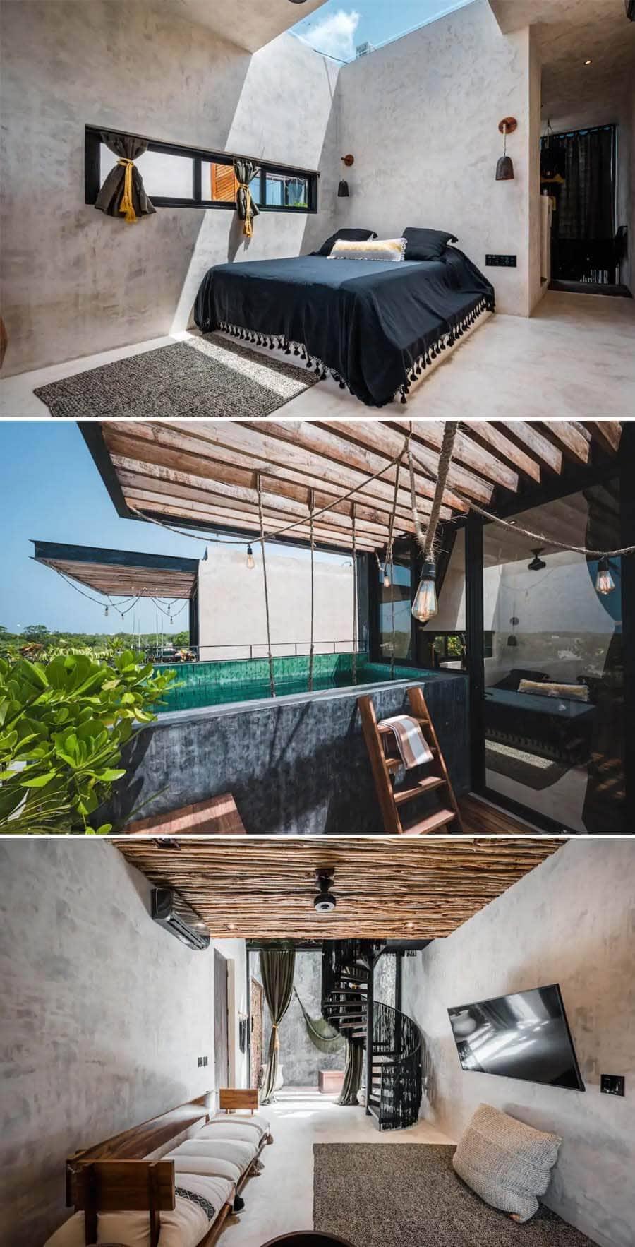 Best Airbnbs in Tulum - penthouse loft apartment