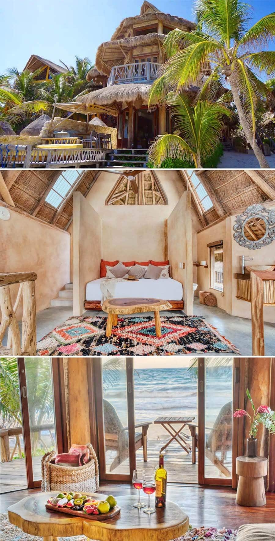 Best Airbnbs in Tulum - Mexican style villa