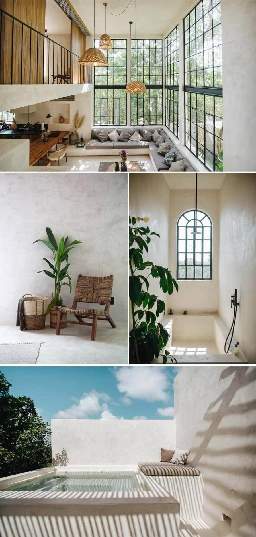 Modern and stunning condo rental in Tulum