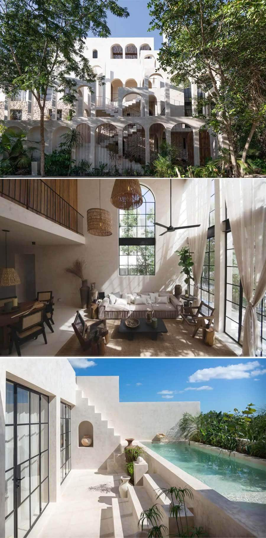 Bohemian penthouse Airbnb in Tulum, Mexico