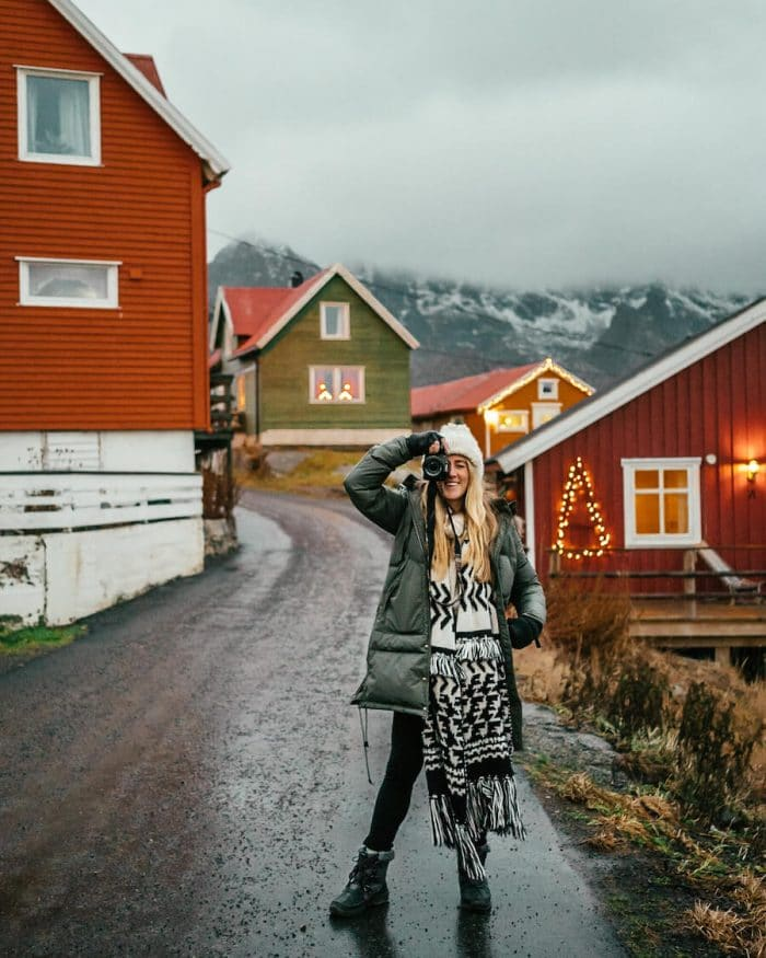 What To Pack For a Winter Trip - Winter outfit in Northern Norway