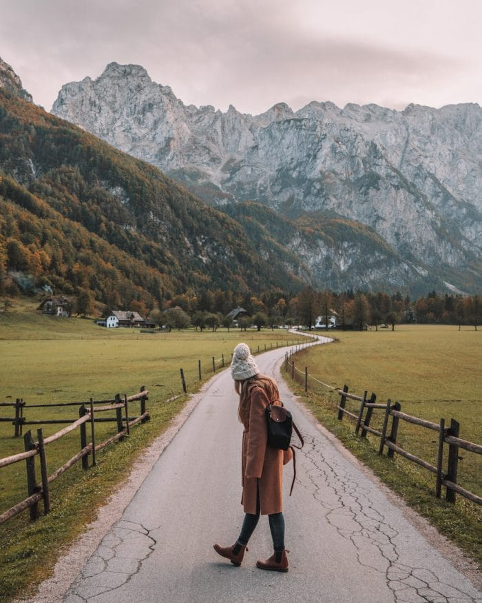 Fall outfit in Slovenia