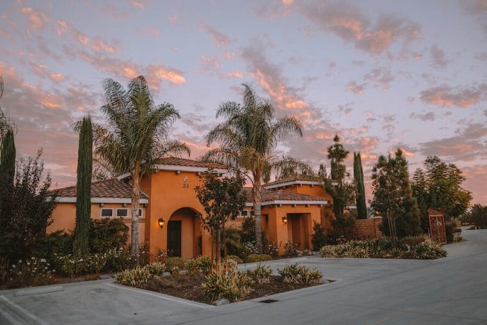 sunset over Carter Estate Winery - things to do in Temecula