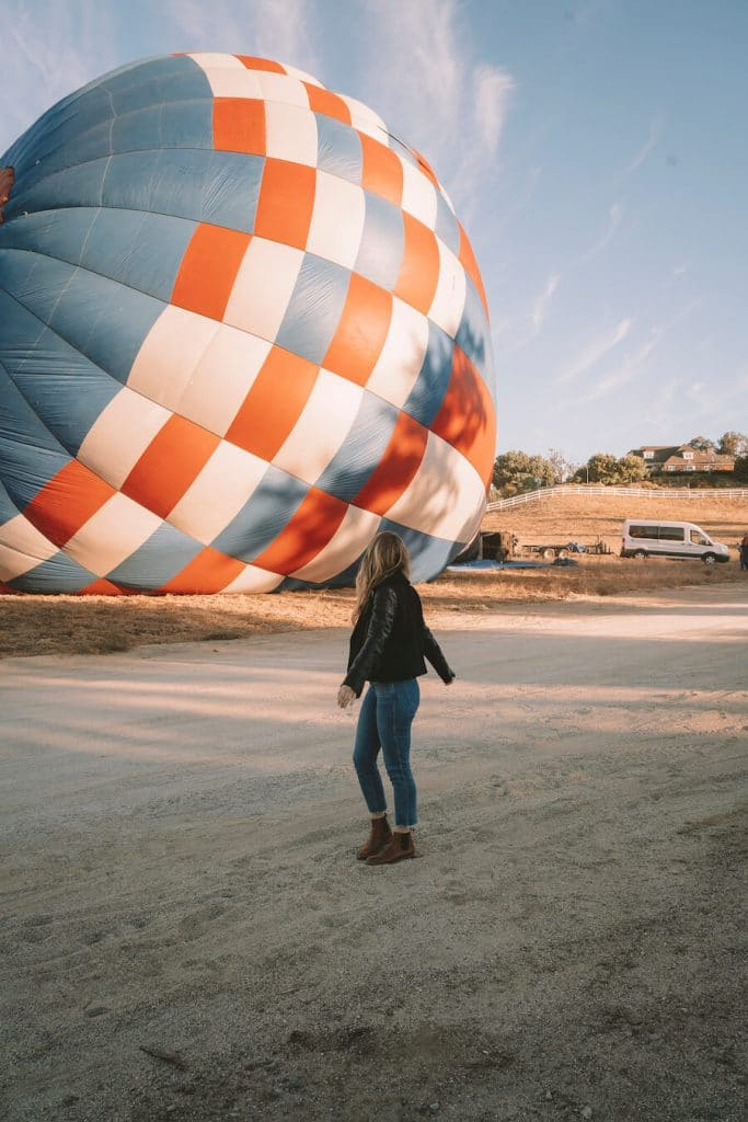 Hot air ballooning with Magical Adventure Balloons - things to do in Temecula