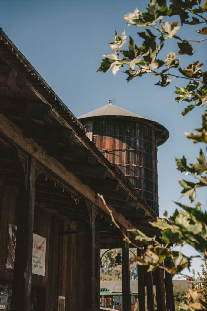 Rustic architecture in Old Town Temecula