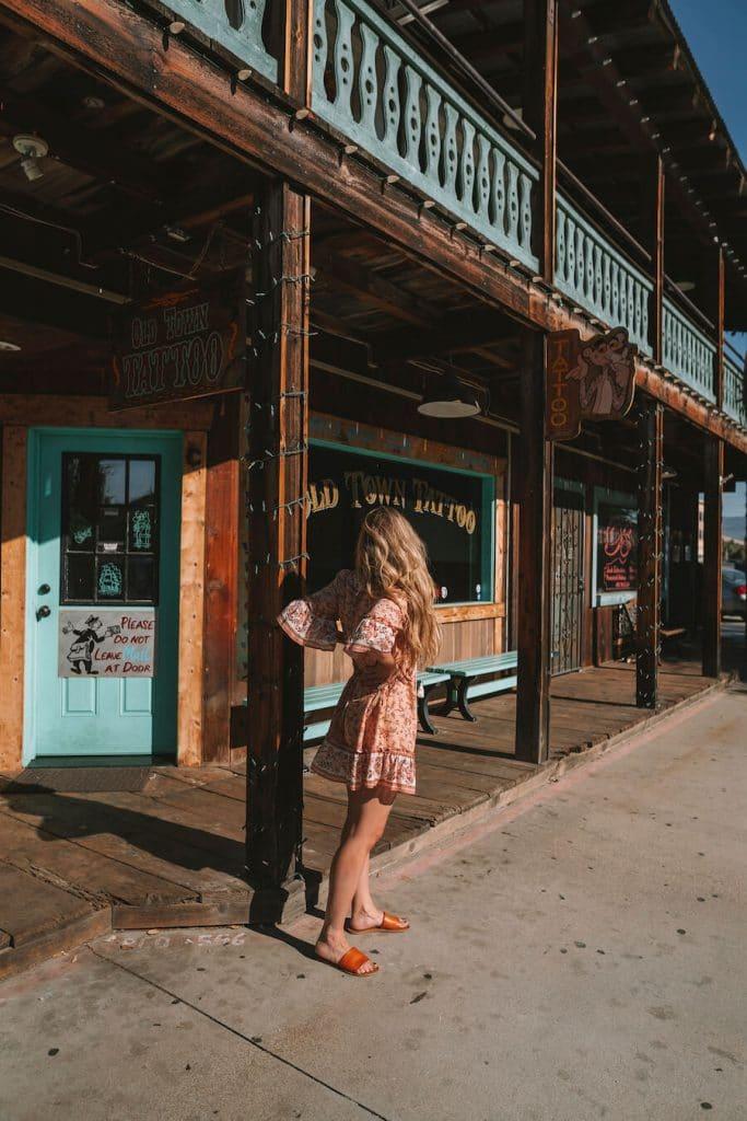Exploring Old Town Temecula