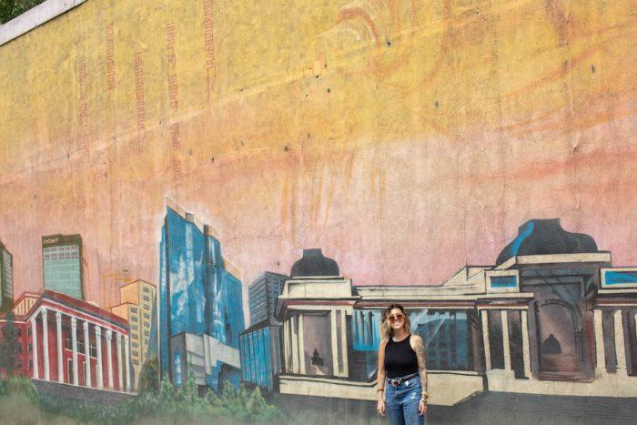 Street art in Ulaanbaatar, Mongolia