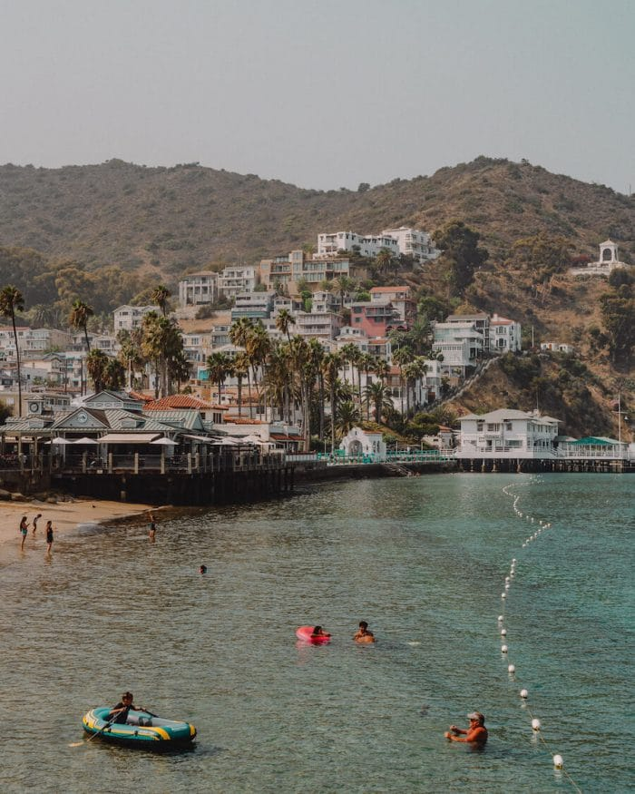 Avalon Bay, Catalina