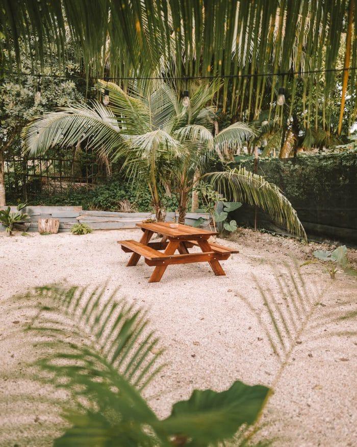 Hummingbird Cafe in Bacalar, Mexico