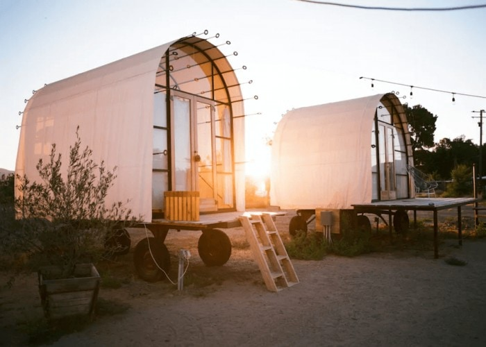 Unique places to stay in California - Blue Sky Center