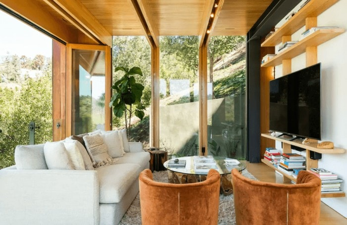 Boxhouse Laurel Canyon living room