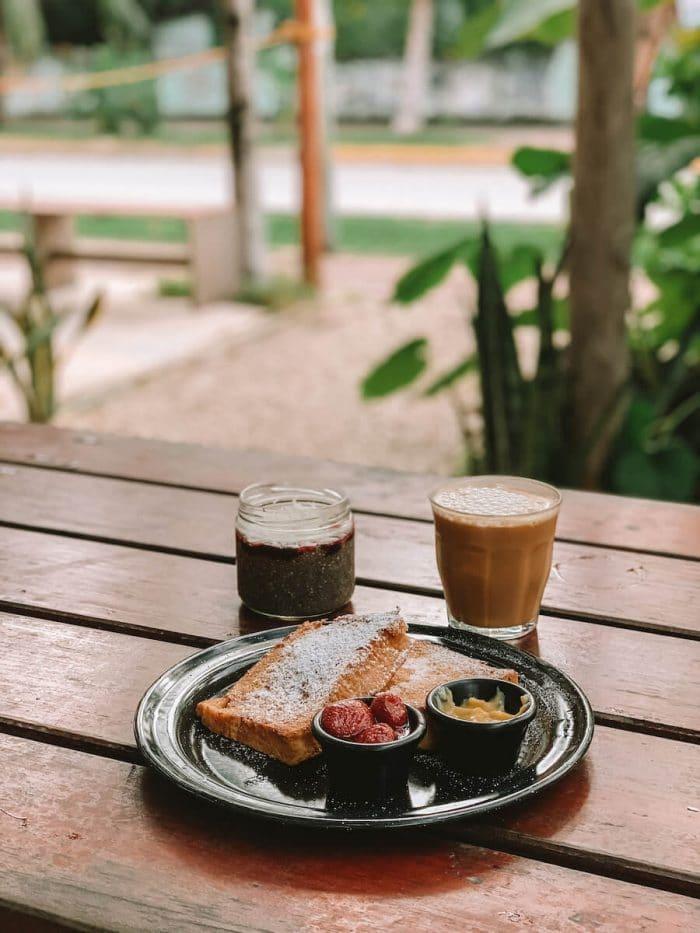 Breakfast at Enamora Bacalar