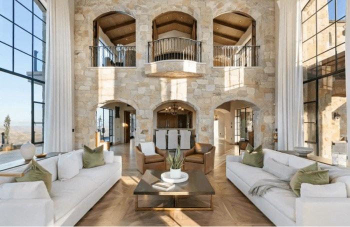Malibu Rocky Oaks estate interior