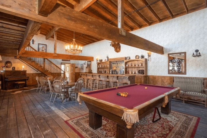 Unique places to stay in California - old west town