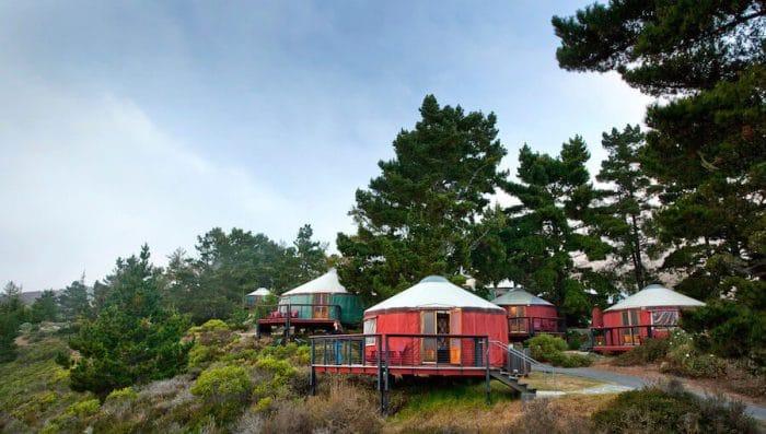 Yurt at Treebones resort