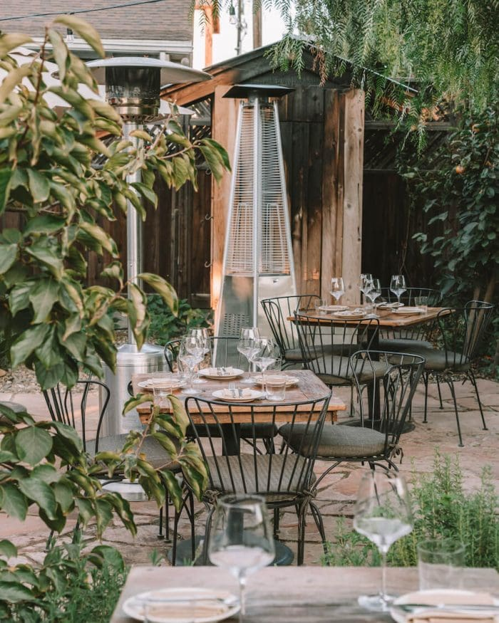 Pico Restaurant outdoor patio