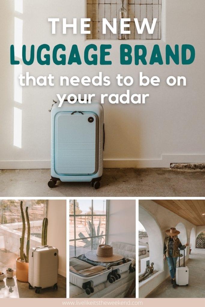 Monos luggage pin cover