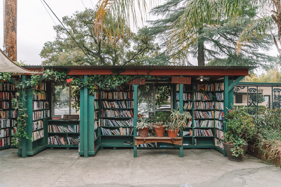 Things to do in Ojai - Bart's Books outdoor bookstore