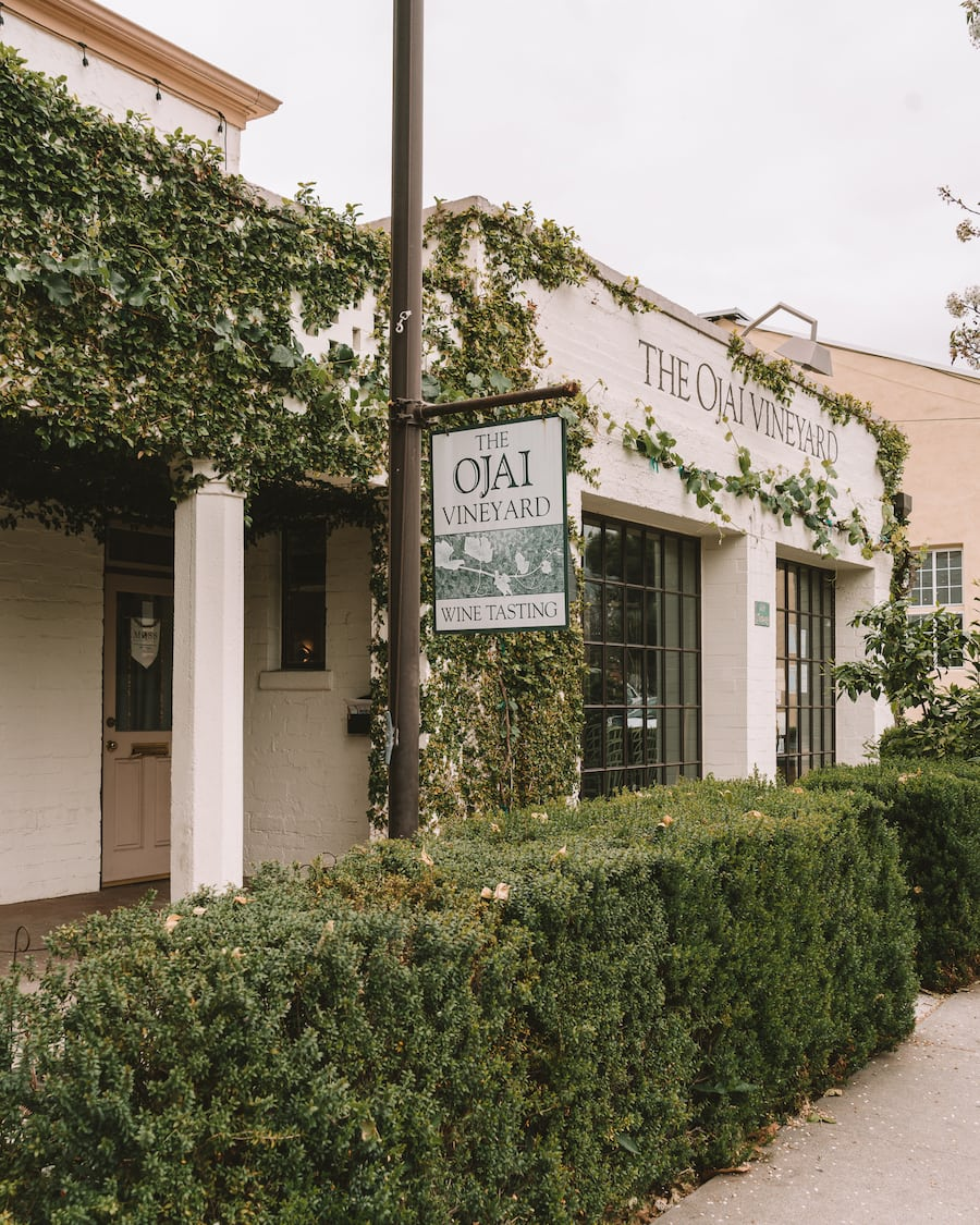 Wine tasting downtown in Ojai - things to do in Ojai