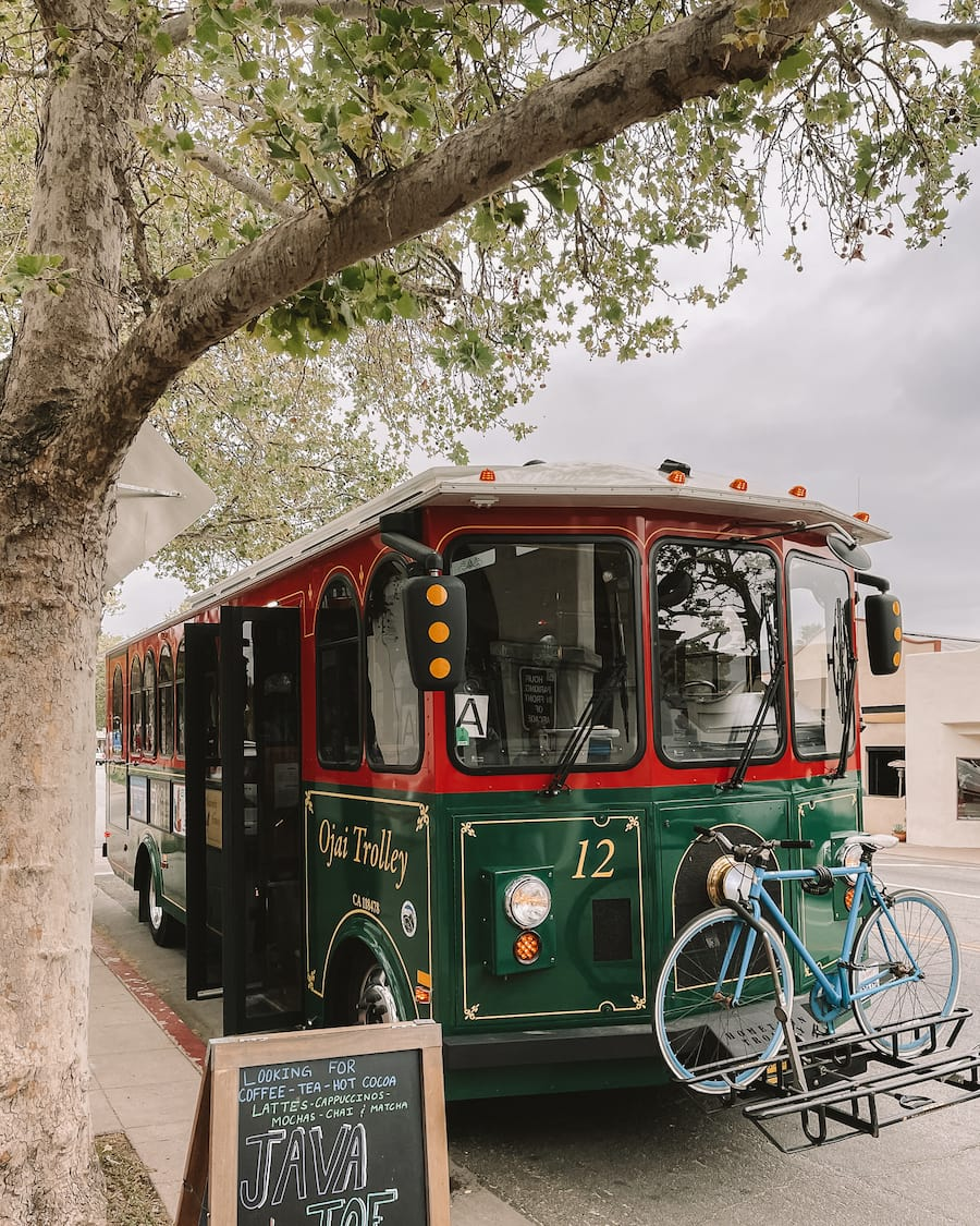 Things to do in Ojai - take the local trolley