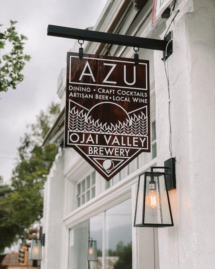 Azu restaurant in Ojai
