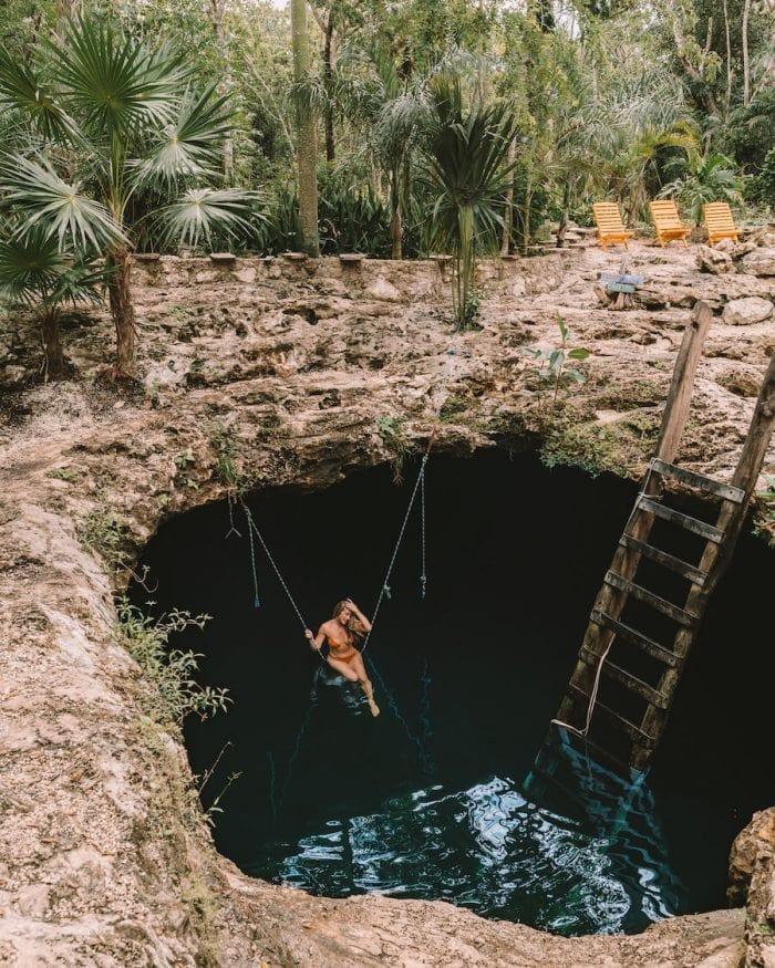 Cenote Calavera, Tulum