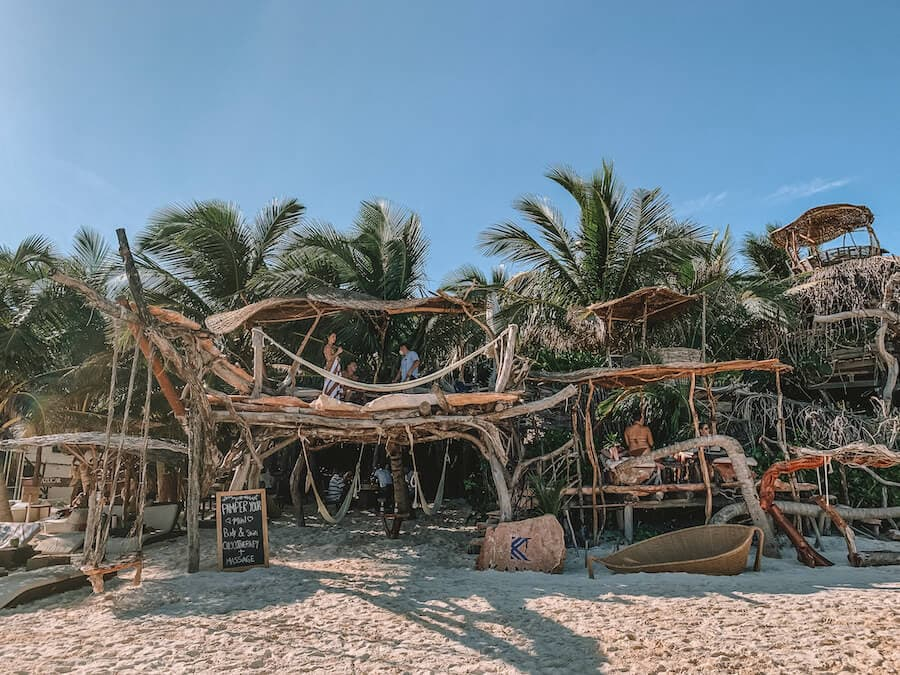 Kanan Beach club, Tulum