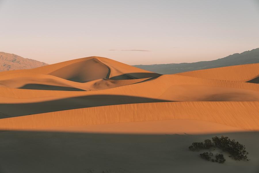 Weekend Getaways from Los Angeles - Mesquite Flat Sand Dunes in Death Valley