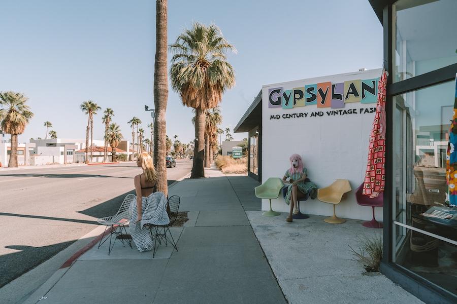 Gypsyland vintage in Palm Springs