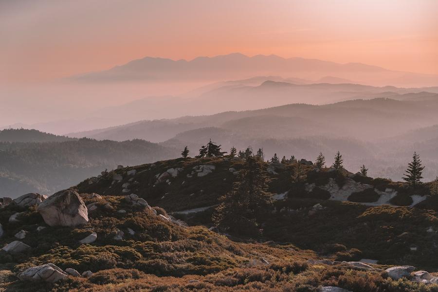 Keller Peak sunset