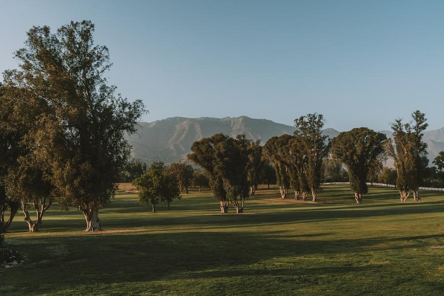 Weekend Getaways from Los Angeles - Ojai Valley Inn golf course