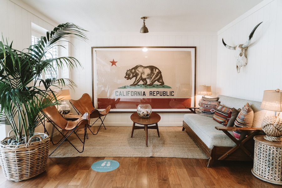 Lobby of the Laguna Beach House - Weekend Getaways from Los Angeles