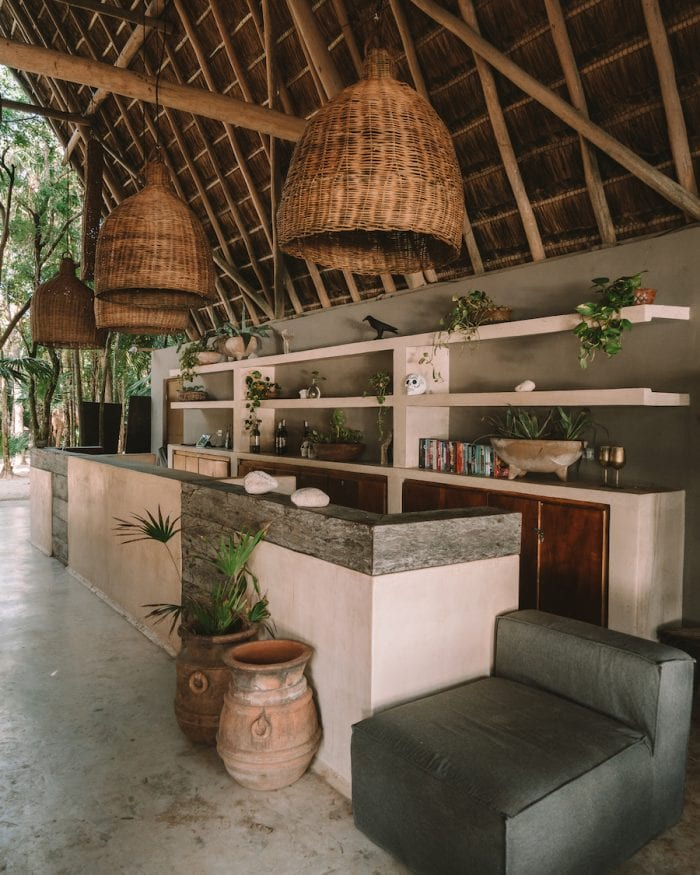 Bar at Papaya Playa Project review